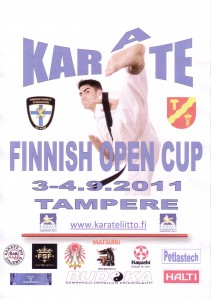 Finnish Open 2011 poster